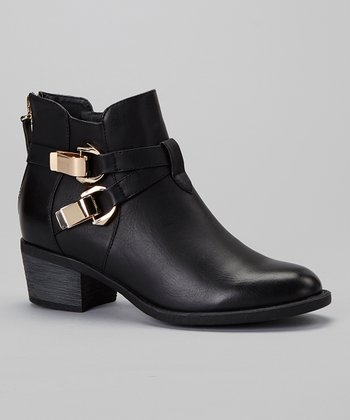 Black Perry Ankle Boot