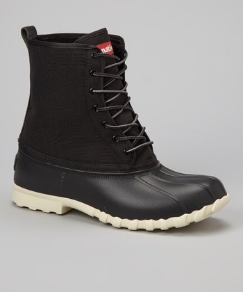 Jiffy Black Jimmy Duck Boot