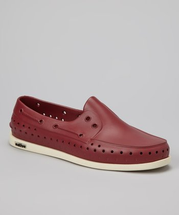 Armada Red Howard Slip-On Shoe