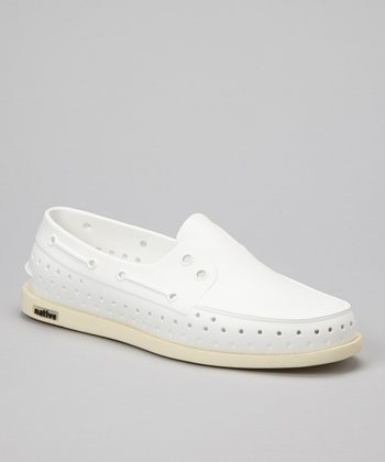 Shell White Howard Slip-On Shoe