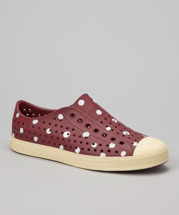 Armada Red Polka Dots Jefferson Slip-On Shoe