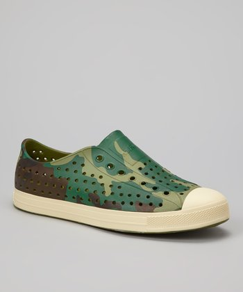 Woodland Camo Jefferson Slip-On Shoe