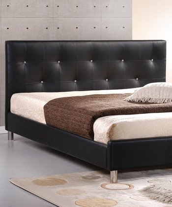 Black Barbara Modern Bed Frame