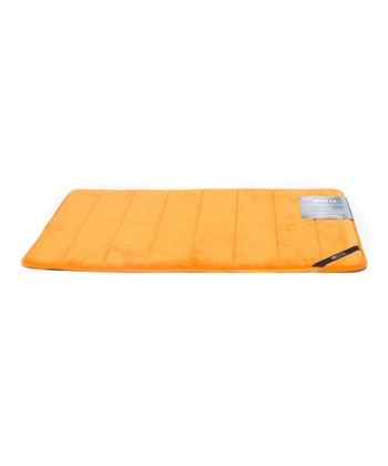 Orange U.S. Polo Memory Foam Bath Mat