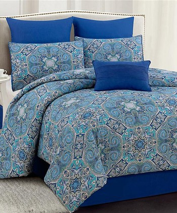 Blue Tropez 200-Thread Count Bedding Set