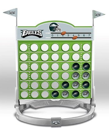 Philadelphia Eagles Connect Four Game