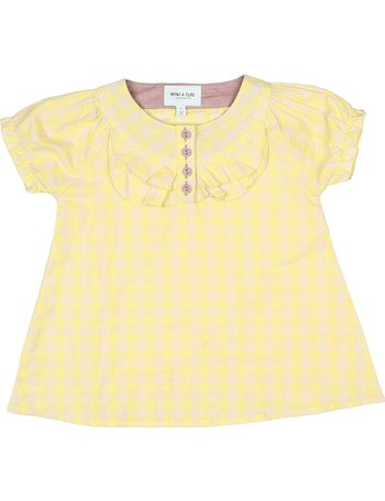 Canary Yellow Ninni Button-Up - Toddler & Girls