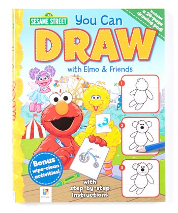 You Can Draw with Elmo & Friends Hardcover Set