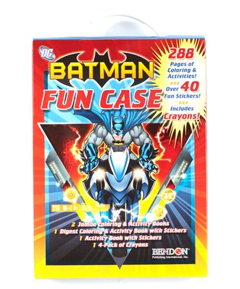 Batman Fun Case Activity Book Set