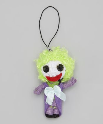 Joker String Doll Key Chain