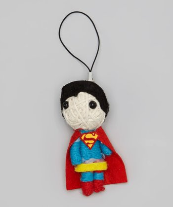Superman String Doll Key Chain
