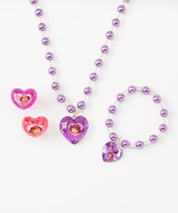 Dora the Explorer Jewelry Set