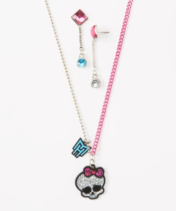 Monster High Necklace & Earrings Set