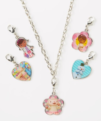 Doc McStuffins Necklace & Charms Set