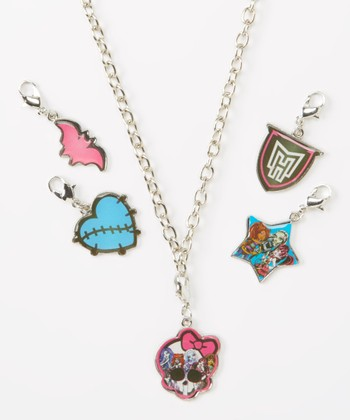 Monster High Necklace & Charms Set