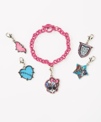 Monster High Bracelet & Charms Set