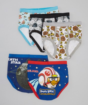 Star Wars & Angry Birds Underwear Set
