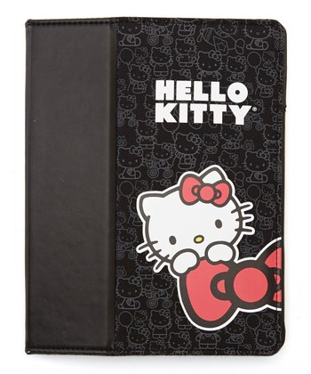 Black Hello Kitty Case for iPad 2, 3 & 4