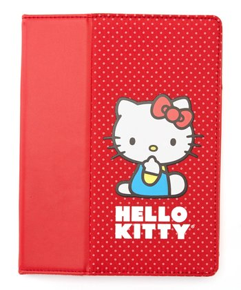 Red Hello Kitty Case for iPad 2, 3 & 4