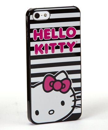 Hello Kitty Stripe Case for iPhone 5