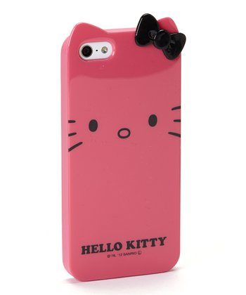 Pink Hello Kitty Character Case for iPhone 5