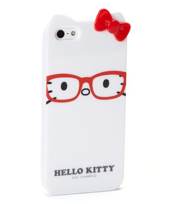 Kitty White & Glasses Case for iPhone 5