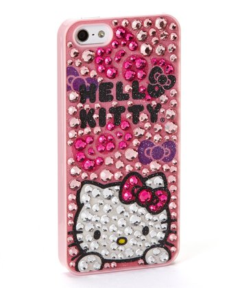 Pink Rhinestone 'Hello Kitty' Case for iPhone 5