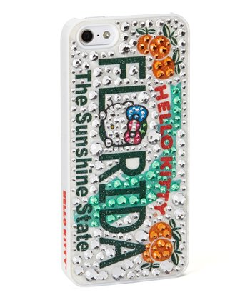 Rhinestone 'Hello Kitty Florida' Case for iPhone 5