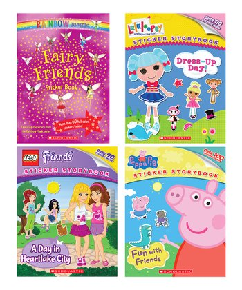 Friends Sticker Activity Paperback Set