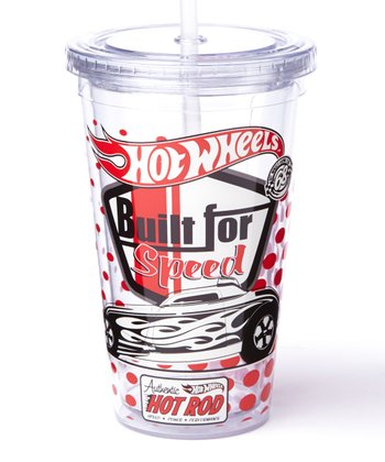 Clear Hot Wheels Cold Cup