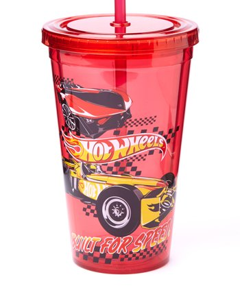 Red Hot Wheels Cold Cup
