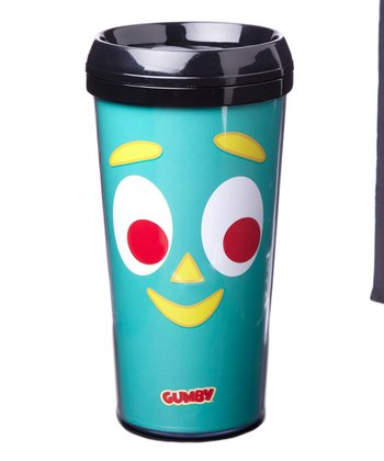 Gumby Plastic Travel Mug