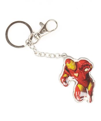 Iron Man Action Key Chain