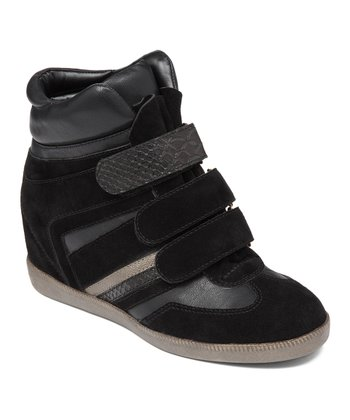Black Anthony Hi-Top Sneaker