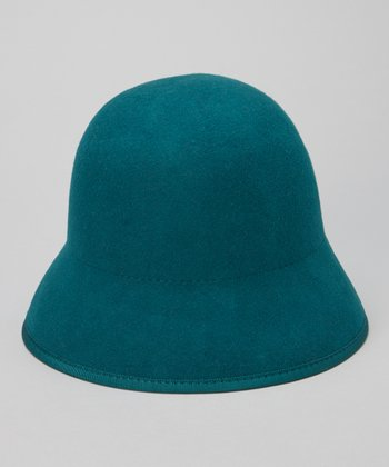 Emerald Wool Cloche