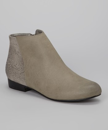 Gray Holly Bootie