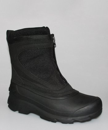Black Ankle Boot - Women