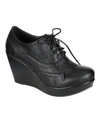 Black Miller Wedge