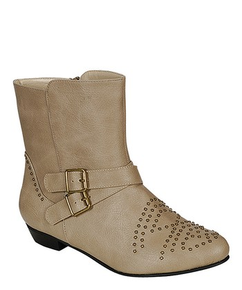 Taupe Lee Boot