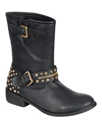 Black Burten Boot