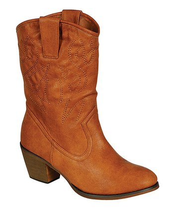 Cognac West Boot