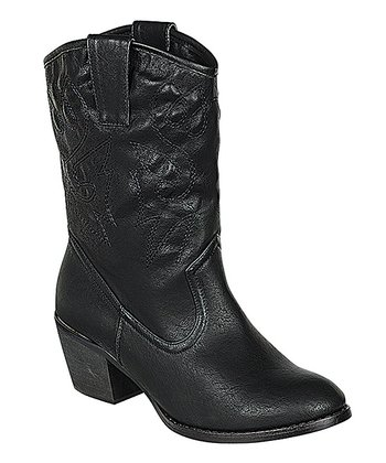 Black West Boot