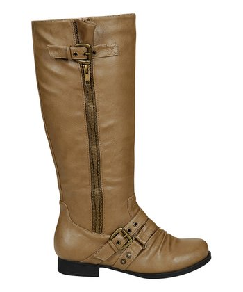 Taupe Finly Boot