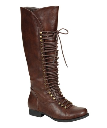 Brown High Mae Boot