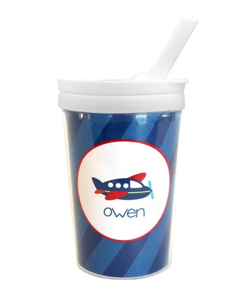 Airplane Ride Personalized Toddler Cup