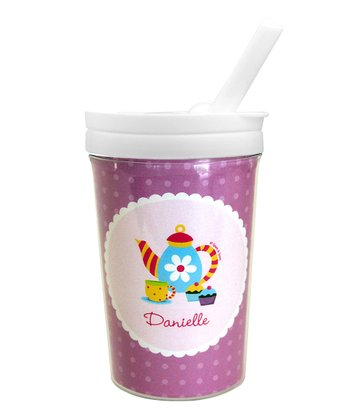 Teatime Personalized Toddler Cup