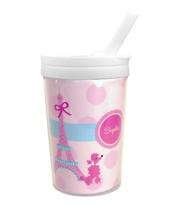 Ohh La La Paris Personalized Toddler Cup