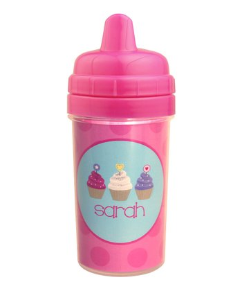 Sweet Cupcakes Personalized Sippy Cup