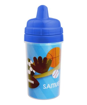 Sports Fan Personalized Sippy Cup
