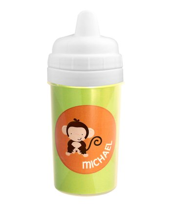 Cute Baby Monkey Personalized Sippy Cup